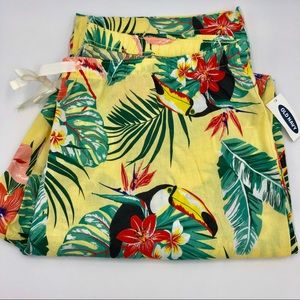 Old Navy Hawaiian Pajama Pants